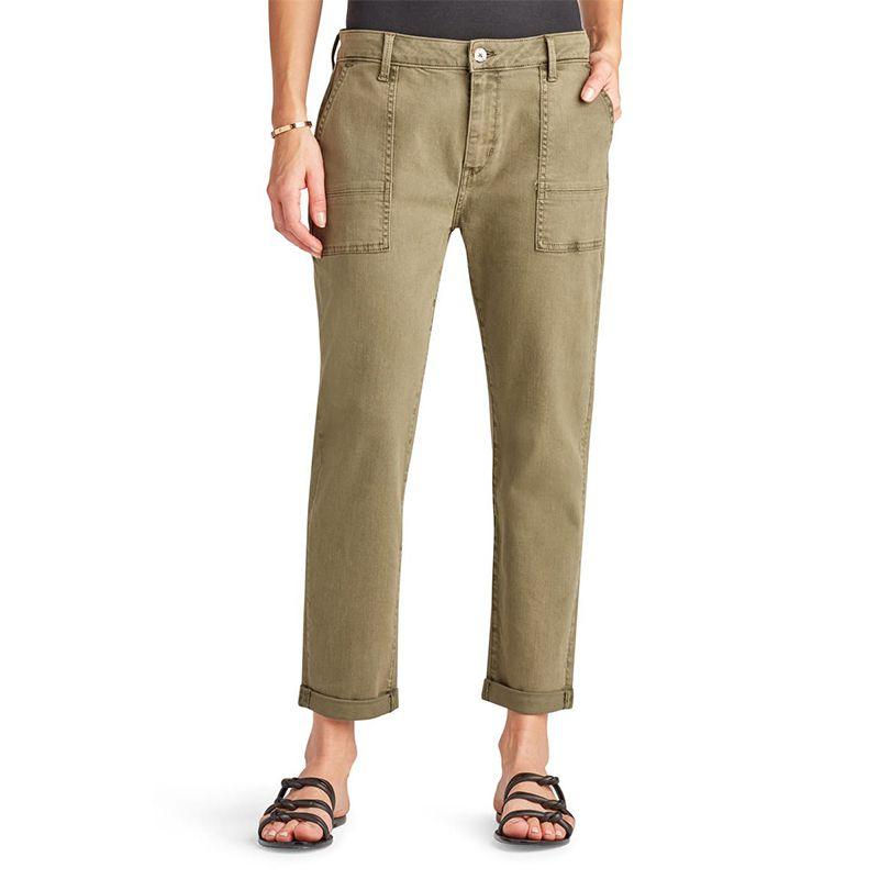 Cotton Blend Utility Trousers