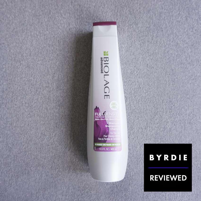 biolage advanced full density thickening shampoo