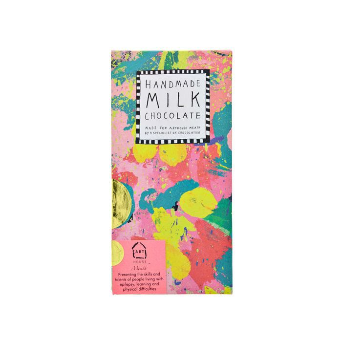 eco products: Arthouse Meath Abstract Handmade Milk Chocolate