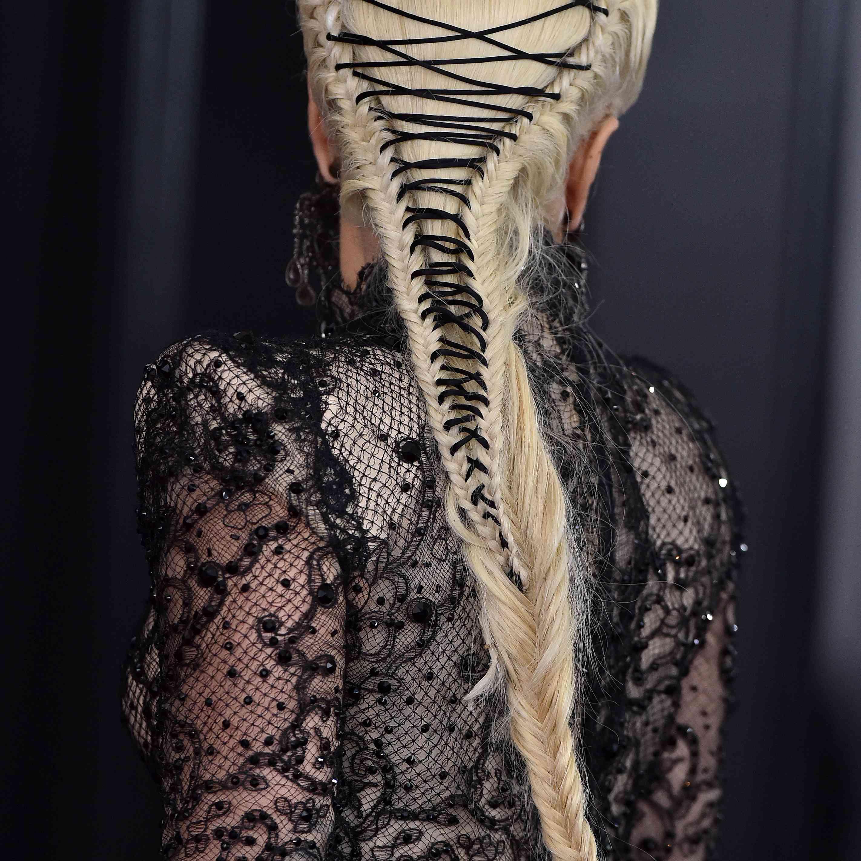 Lady Gaga Prom Hair