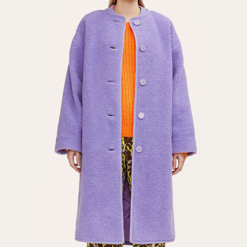 Stine Goya Beth Fleece Coat