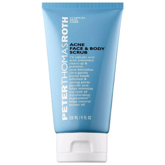 Acne Face & Body Scrub 4 oz/ 120 mL