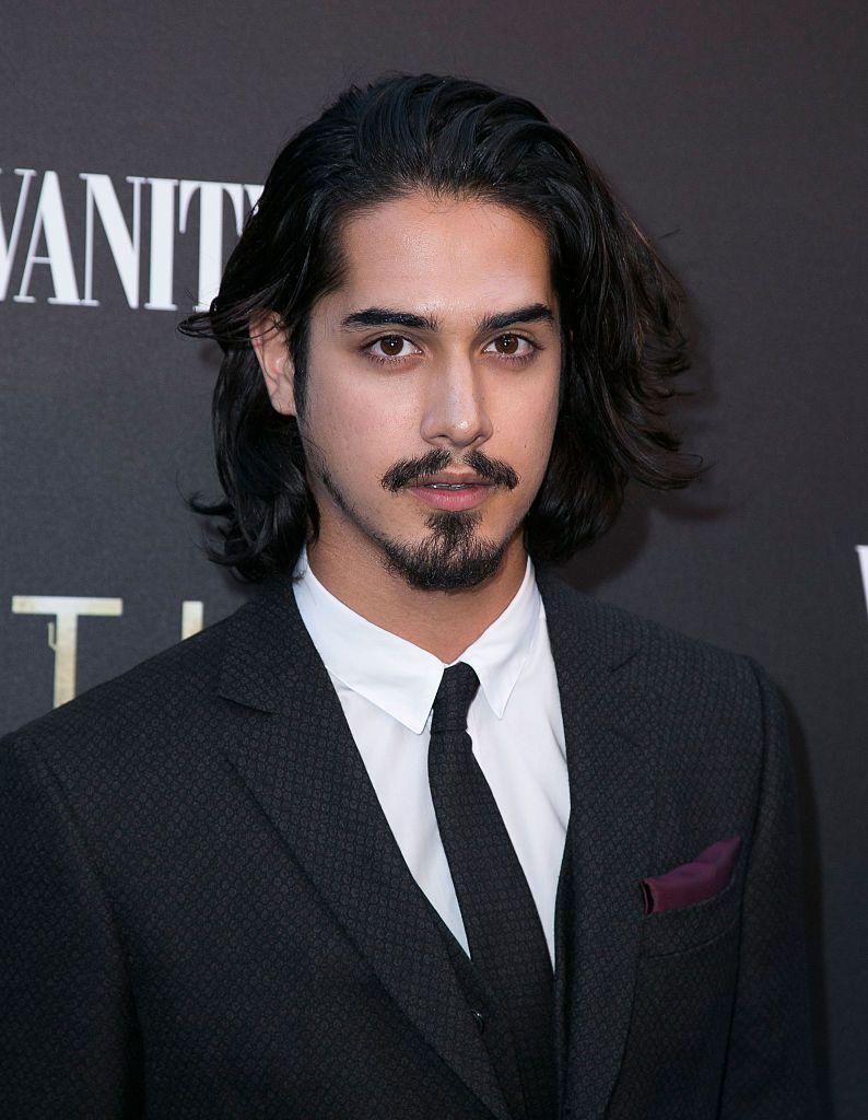 Actor Avan Jogia with long hair