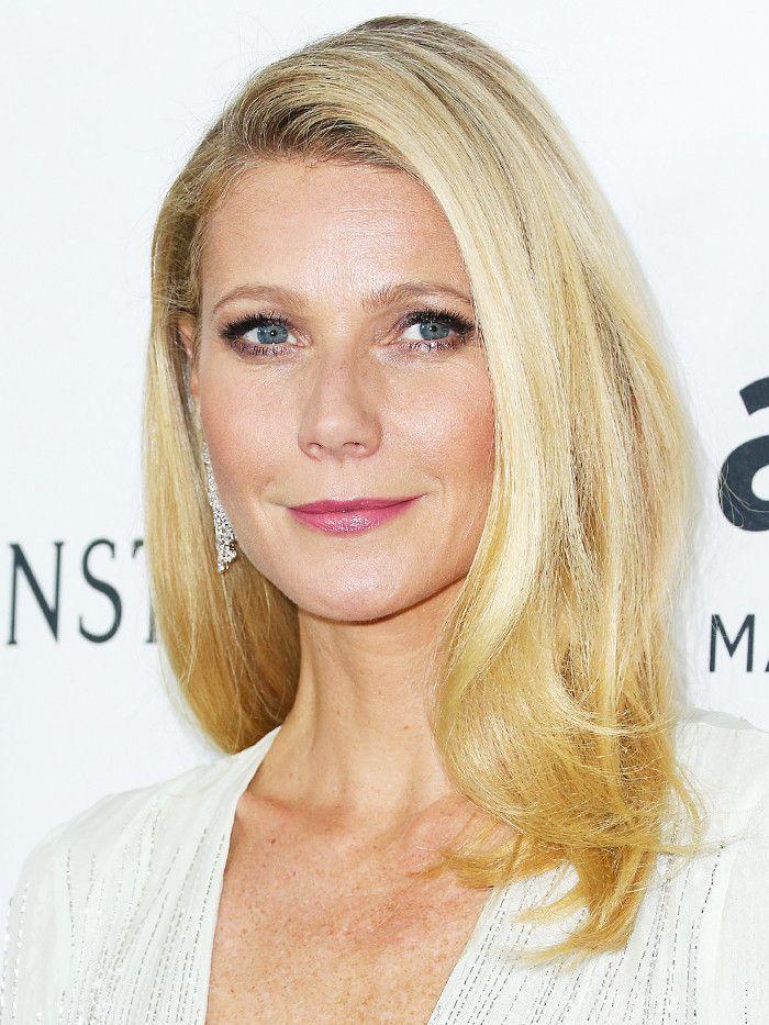 Mid-length hairstyles: Gwyneth Paltrow