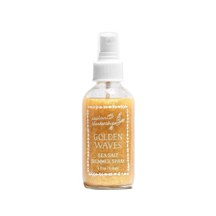 Golden Waves Sea Salt Shimmer Spray 4 oz/ 118 mL
