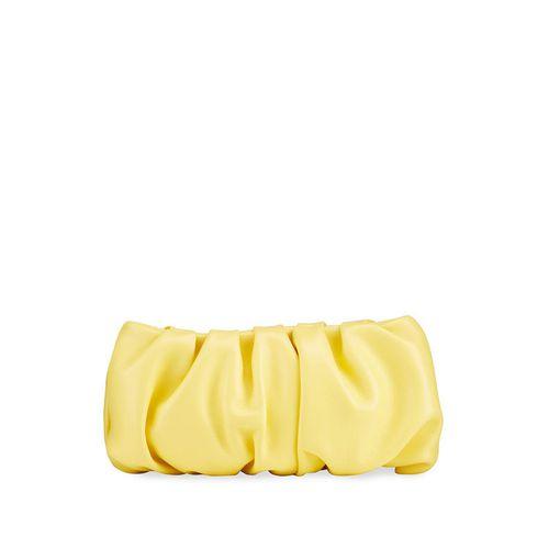 Staud Bean Convertible Leather Clutch Bag