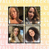 fall editors picks
