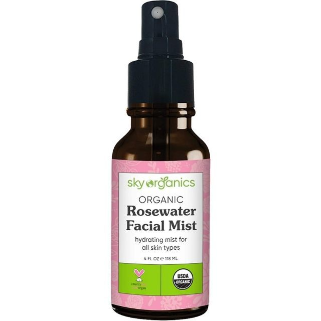 Organic Rosewater Facial Mist by Sky Organics