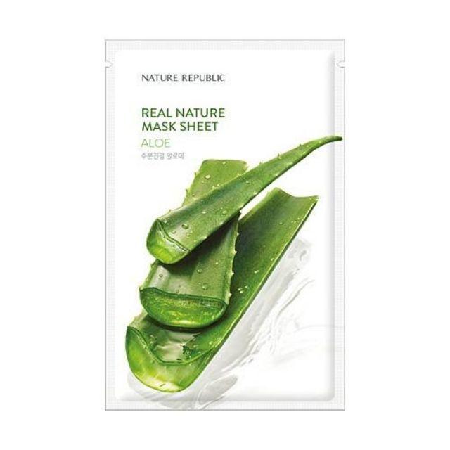 Natural Republic Real Nature Aloe Mask Sheet