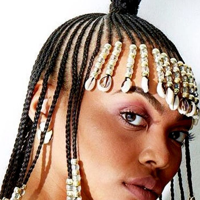 13 Beautiful Hairstyles With Beads You Have To See