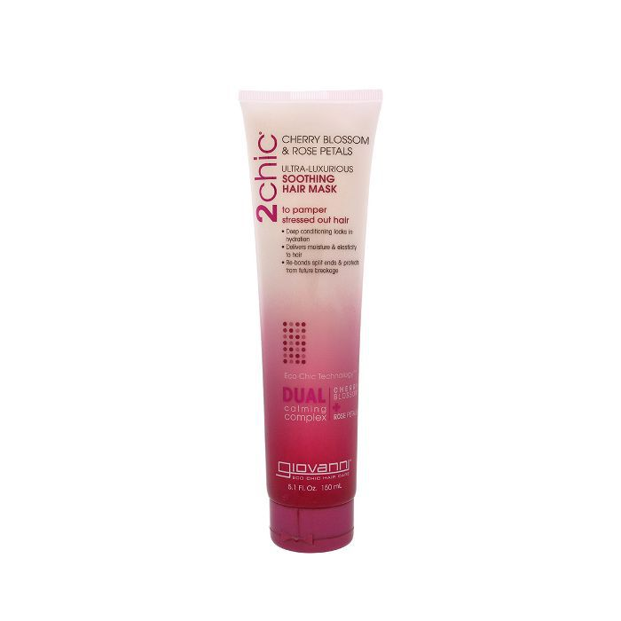 Giovanni Soothing Hair Mask with Cherry Blossom & Rose Petals