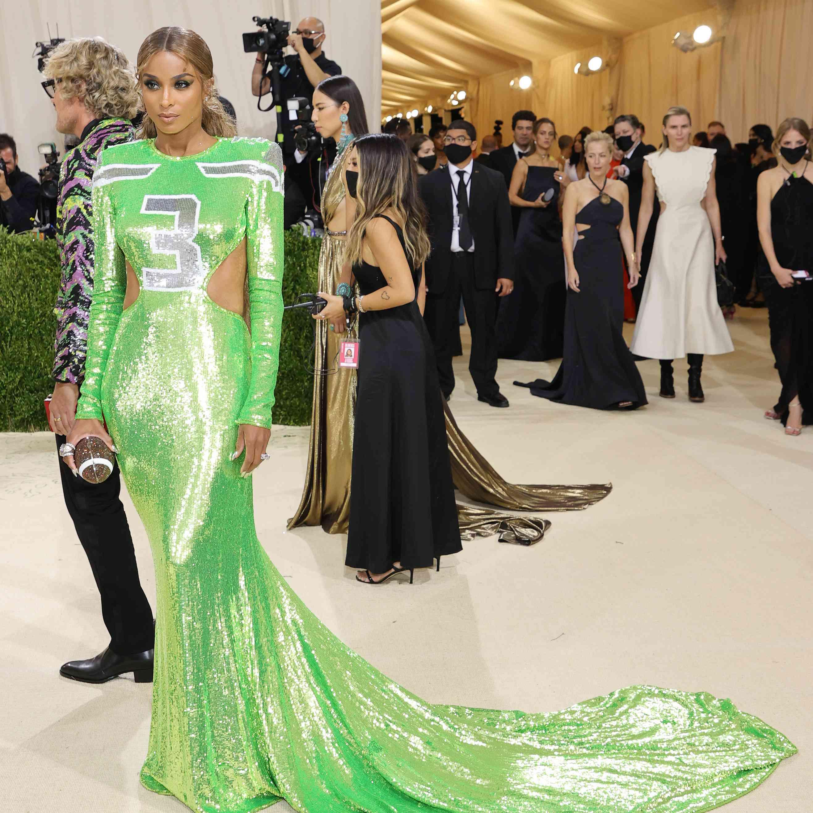 Ciara at the 2021 Met Gala