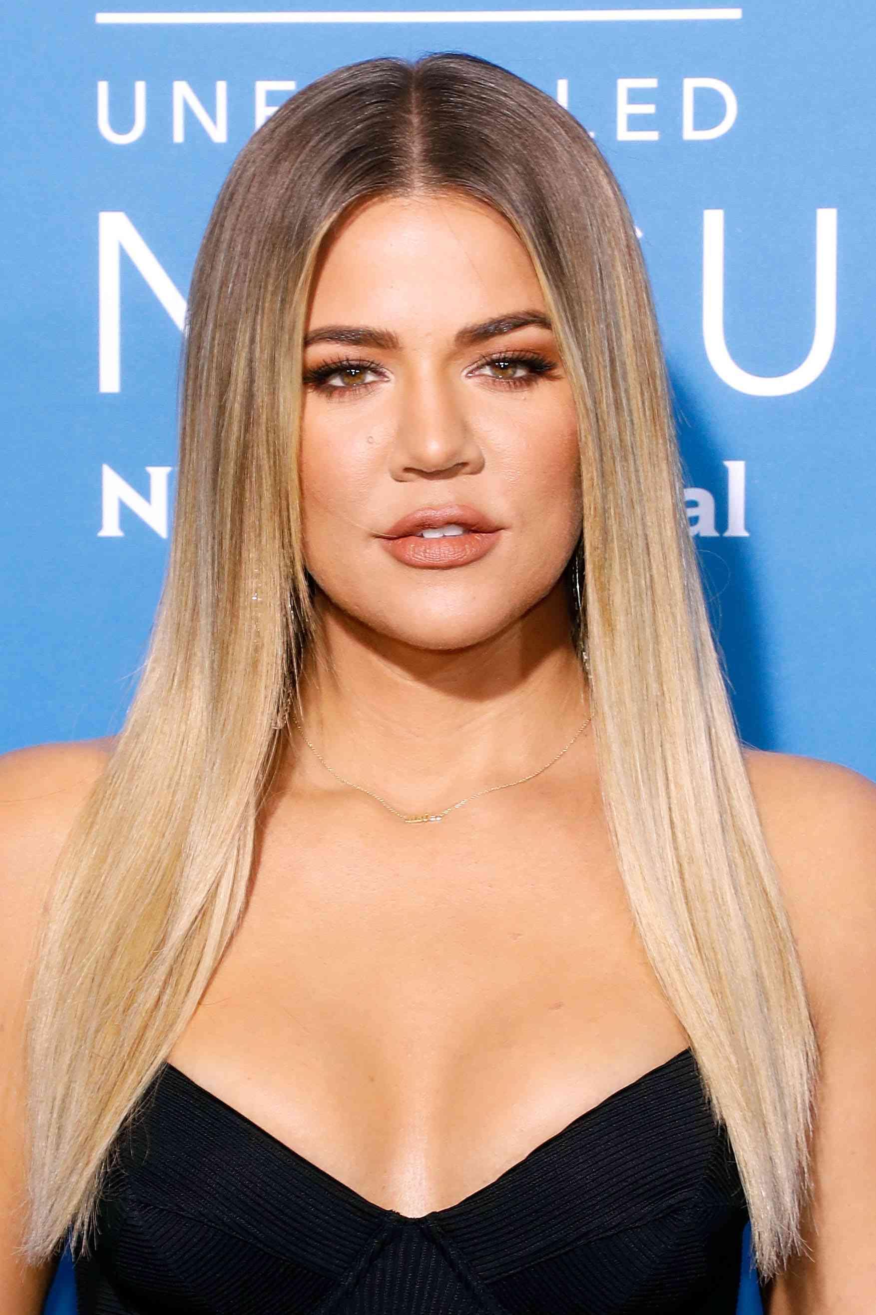 Khloe Kardashian Ash Brown Hair
