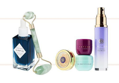 compilation of skin care gifts