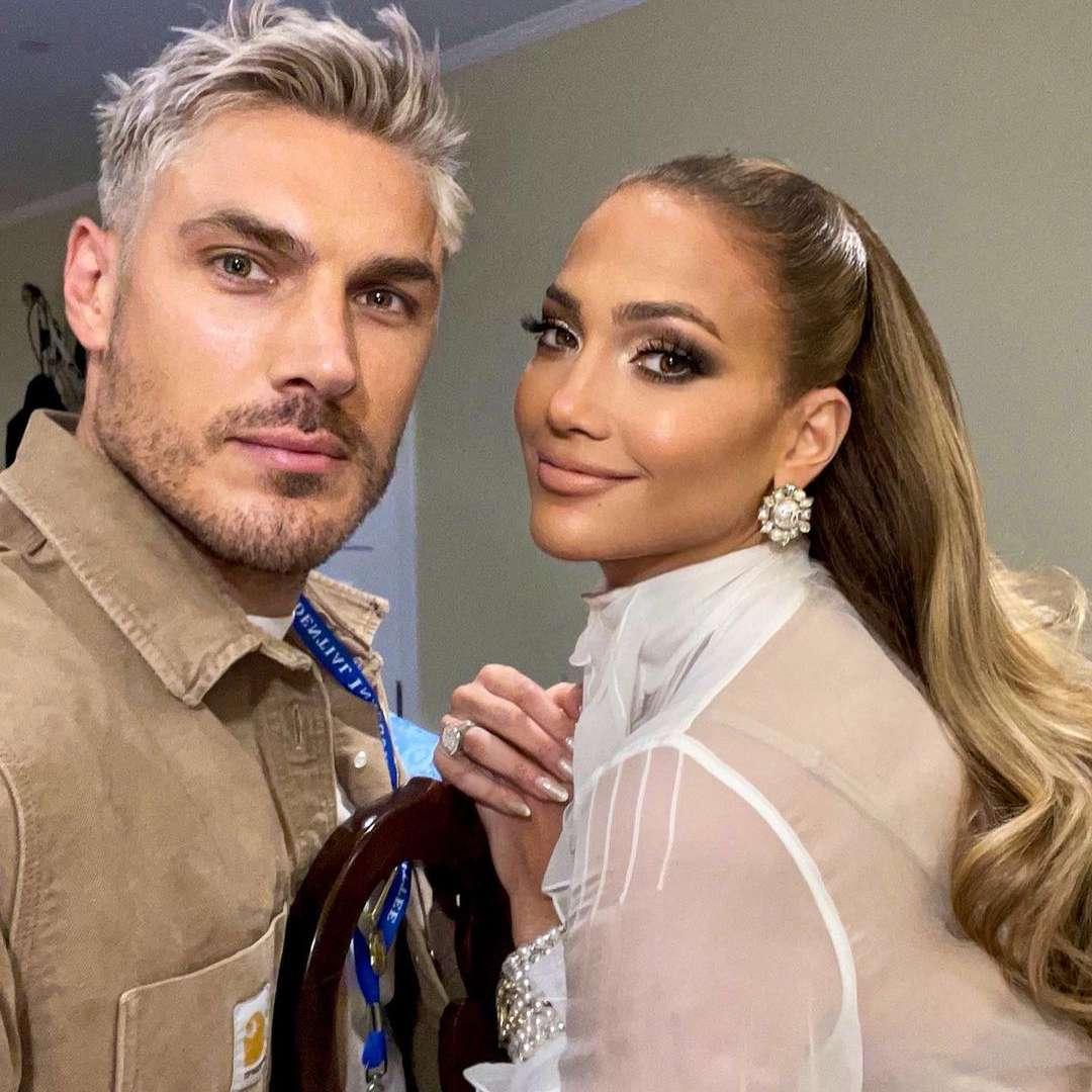 Chris Appleton and Jennifer Lopez
