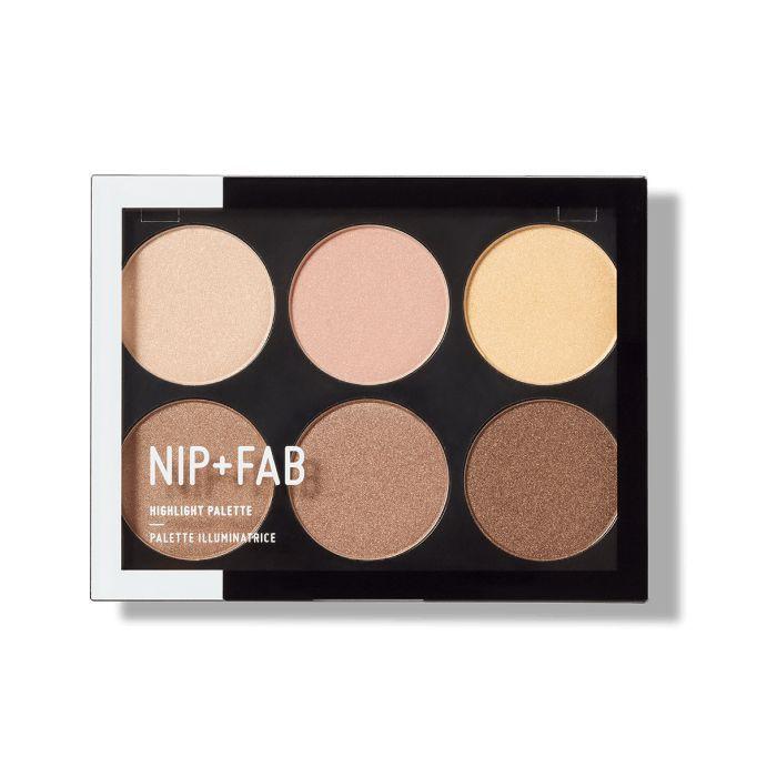 Danielle Peazer daytime makeup look: Nip + Fab Highlight Palette