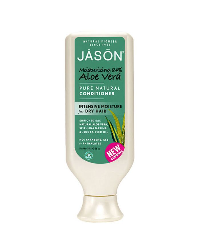 best eco-friendly hair products: Jason Aloe Vera Pure Natural Conditioner