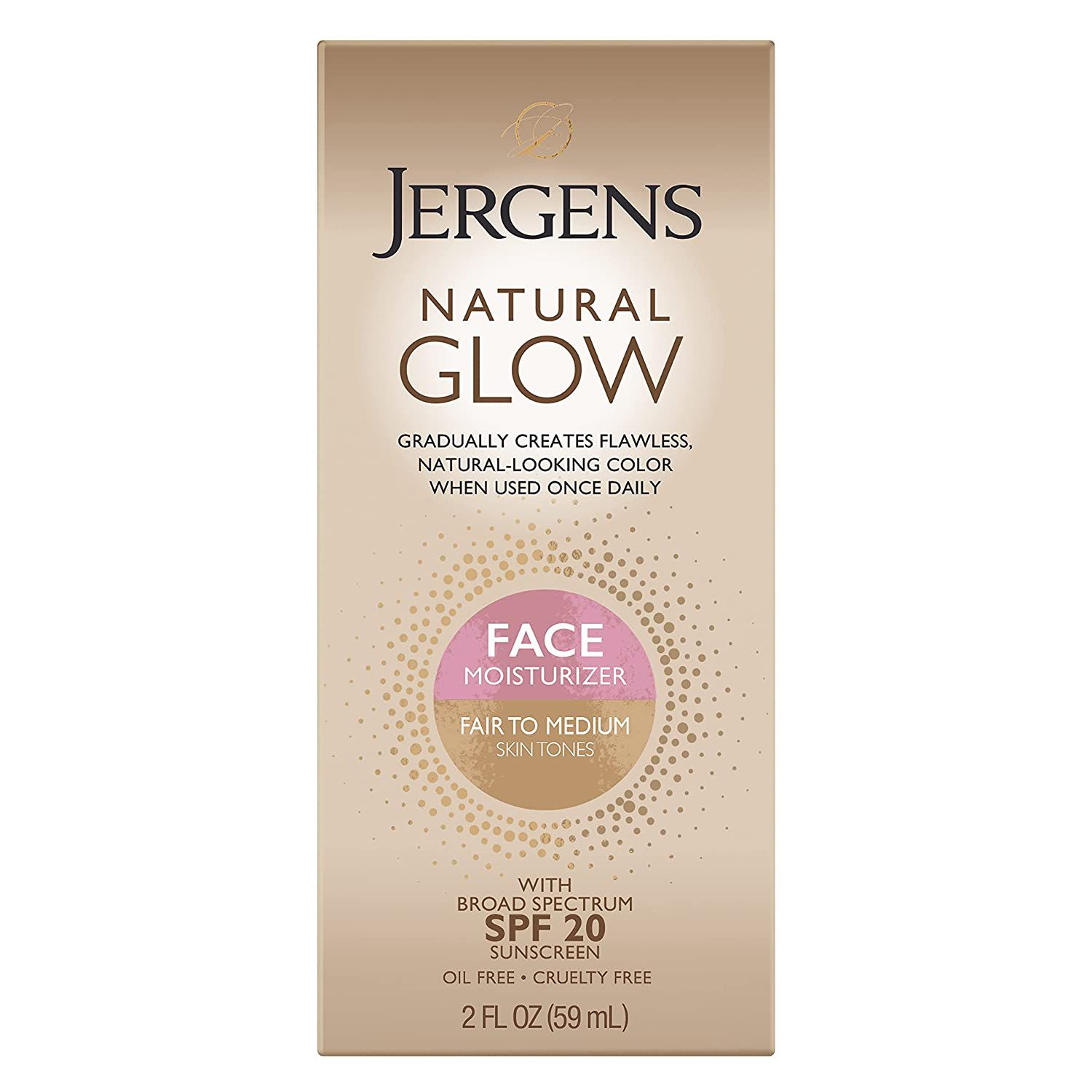Jergens Natural Glow Face Self Tanner