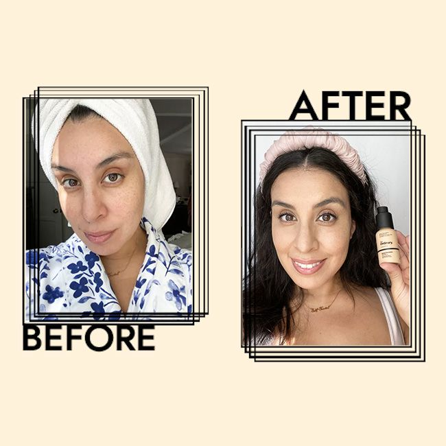 The Ordinary Serum Foundation Results on Stephanie Montes
