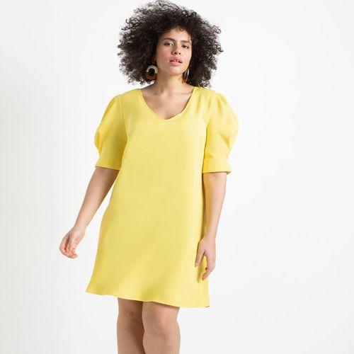 Puff Sleeve Tee Dress ($100)