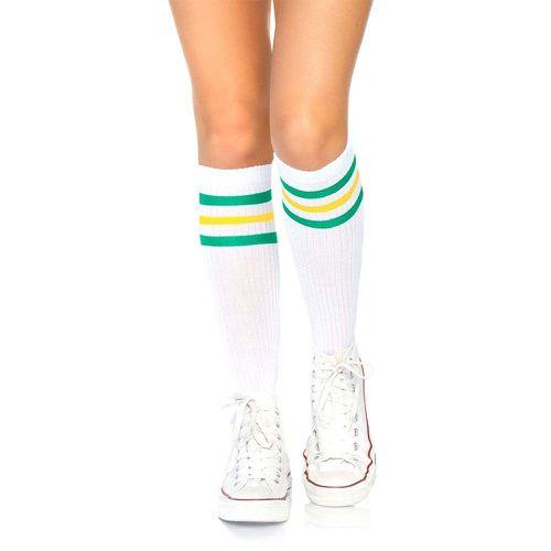 Striped Tube Socks ($11)