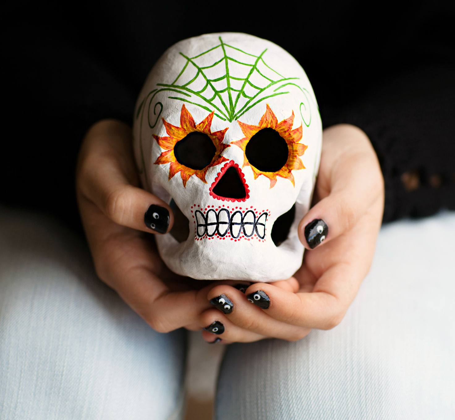 c58f8b1f8 Learn About Sugar Skulls and the History of 'Day of the Dead'