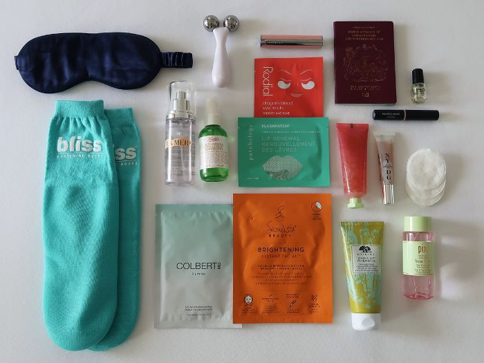 in-flight long-haul skincare routine: My in-flight skincare essentials