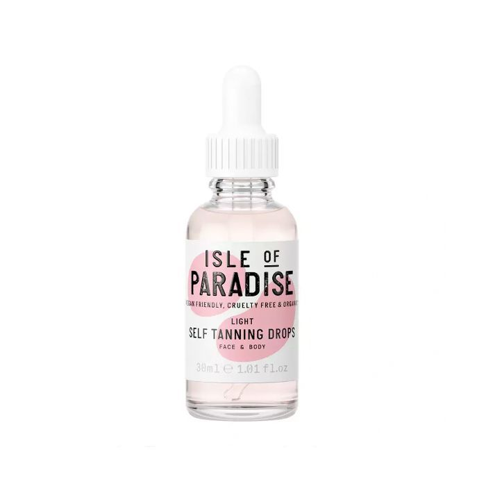 best fake tan for pale skin: Isle of Paradise Self-Tanning Drops Light