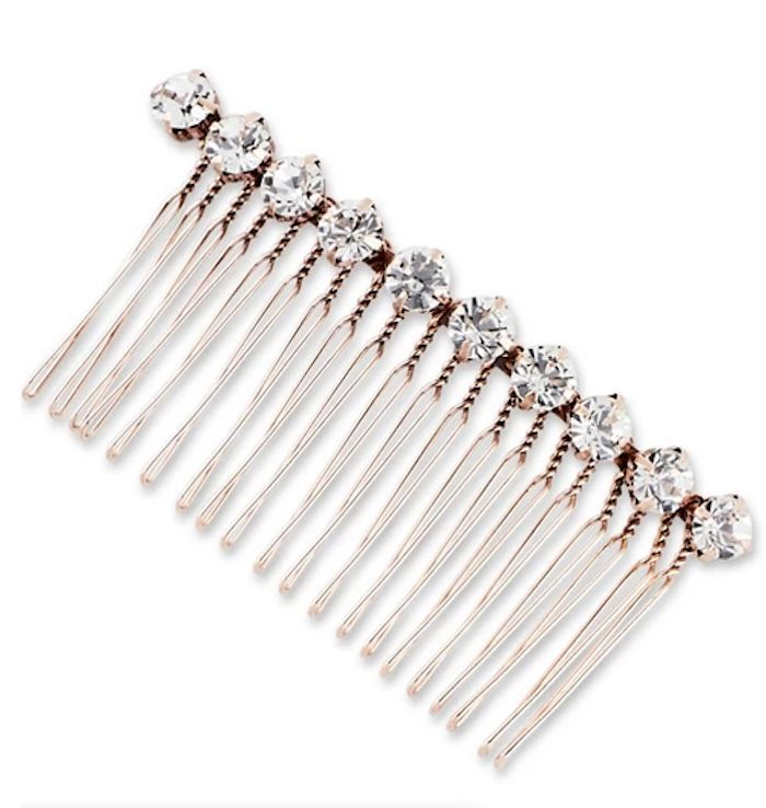 Sincerely Jules x Scunci Rhinestone Metal Comb