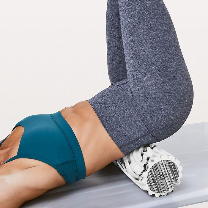 Future of Yoga: Woman on a yoga mat