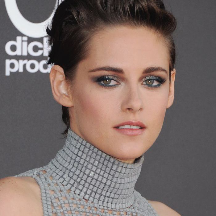 Kristen Stewart - Silver Eye Makeup