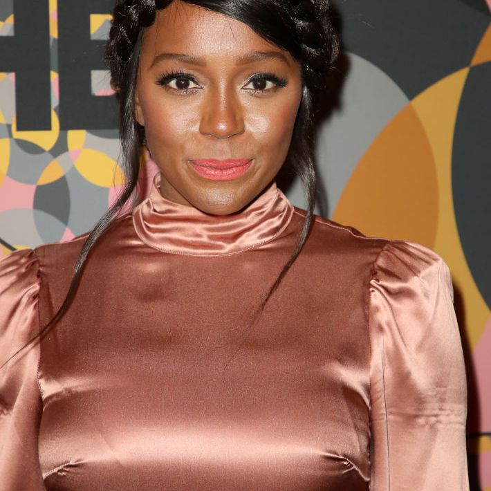 Aja Naomi King attends HBO's Official Golden Globes After Party
