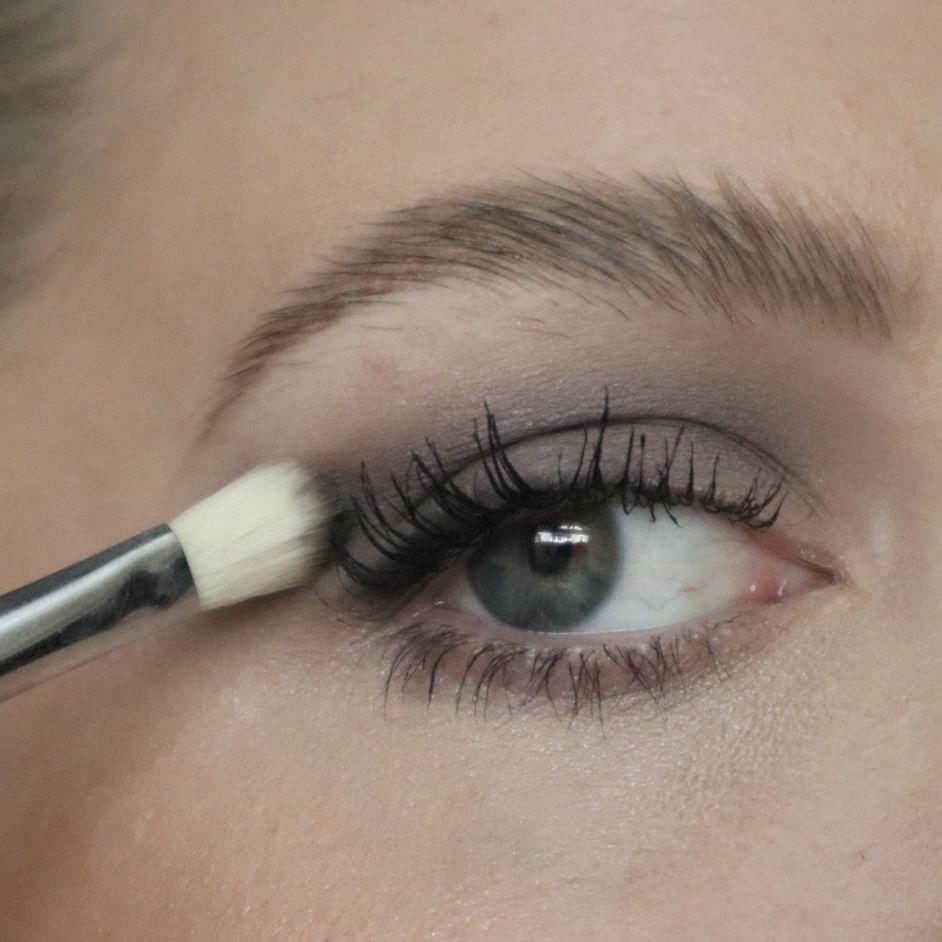 Victoria Beckham Beauty Smoky Eye Brick Application on Dani Schmidt