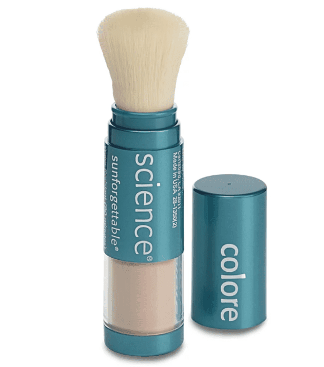 Colorescience Sunforgettable Loose Mineral Sunscreen Brush Broad Spectrum