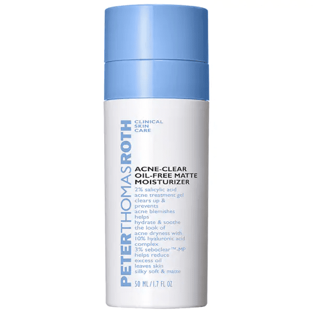 Best Oil-Free: Peter Thomas Roth Acne-Clear Oil-Free Matte Moisturizer