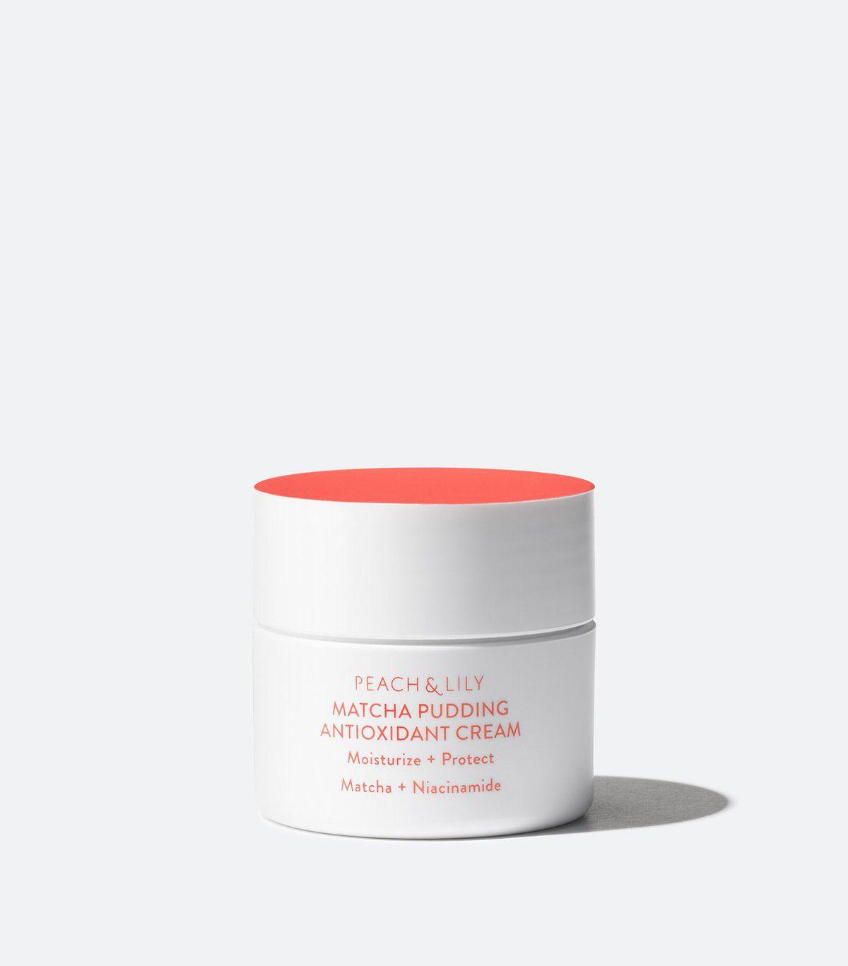 Peach and Lily Matcha Pudding Antioxidant Cream