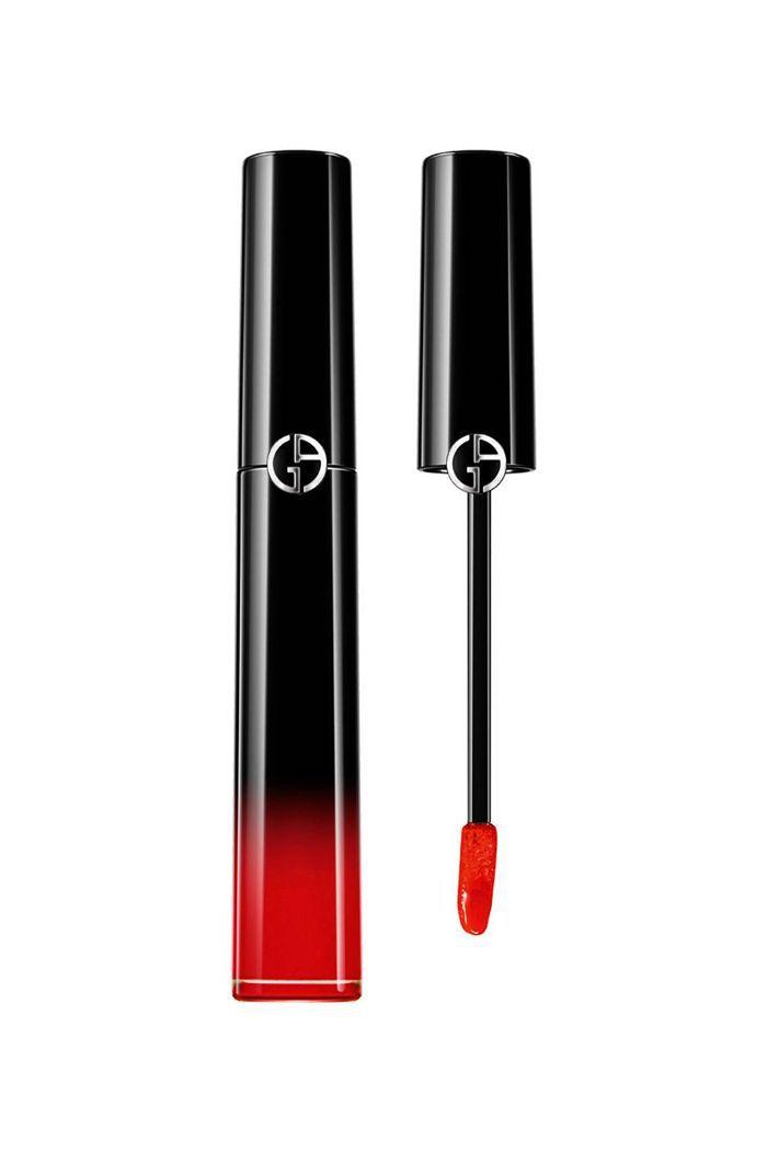 Giorgio Armani Beauty Ecstasy Lacquer in Red to Go