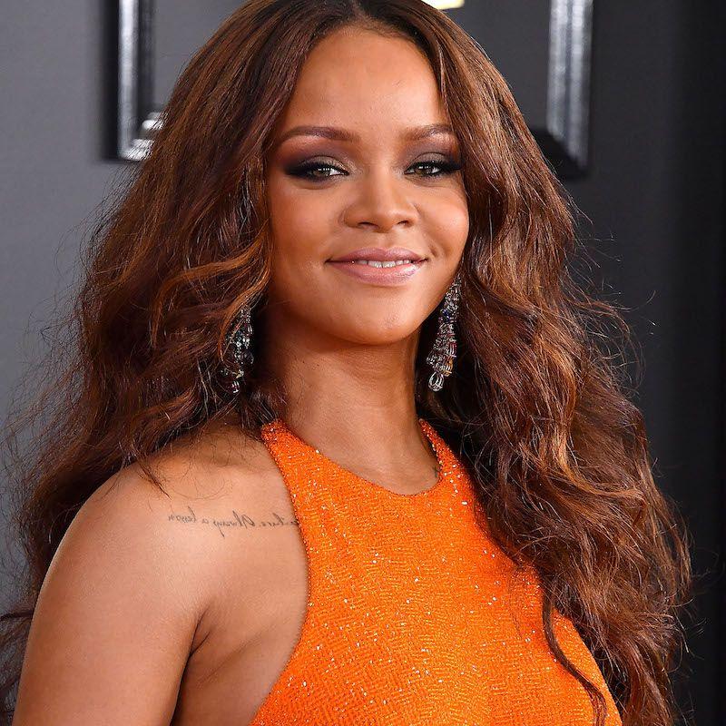Brown Hair Color Rihanna