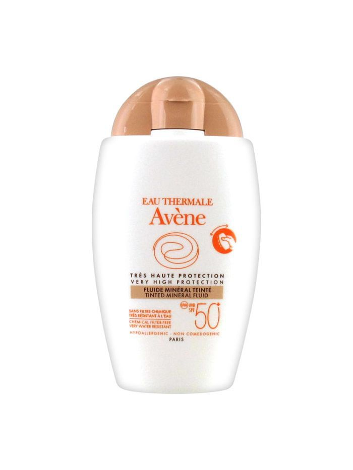 Avène Tinted Mineral Fluid SPF 50