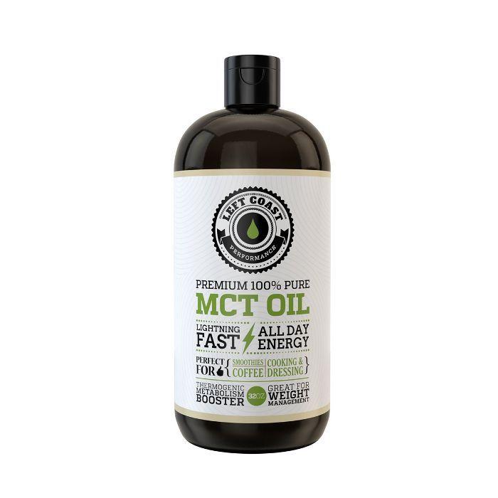 Left Coast Premium 100% Pure MCT Oil