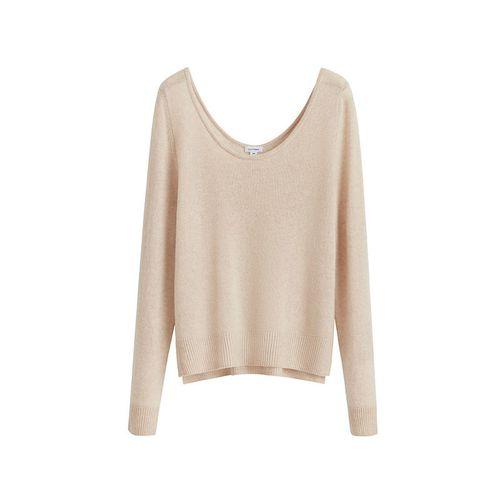 Single-Origin Cashmere Scoop Neck Sweater ($195)