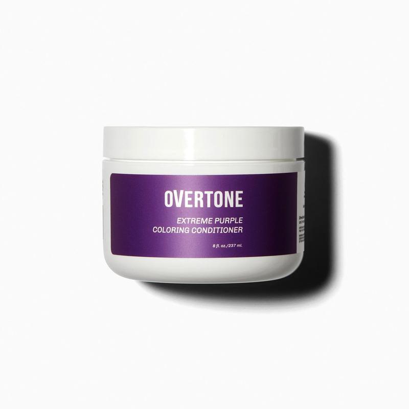 overtone purple coloring conditioner