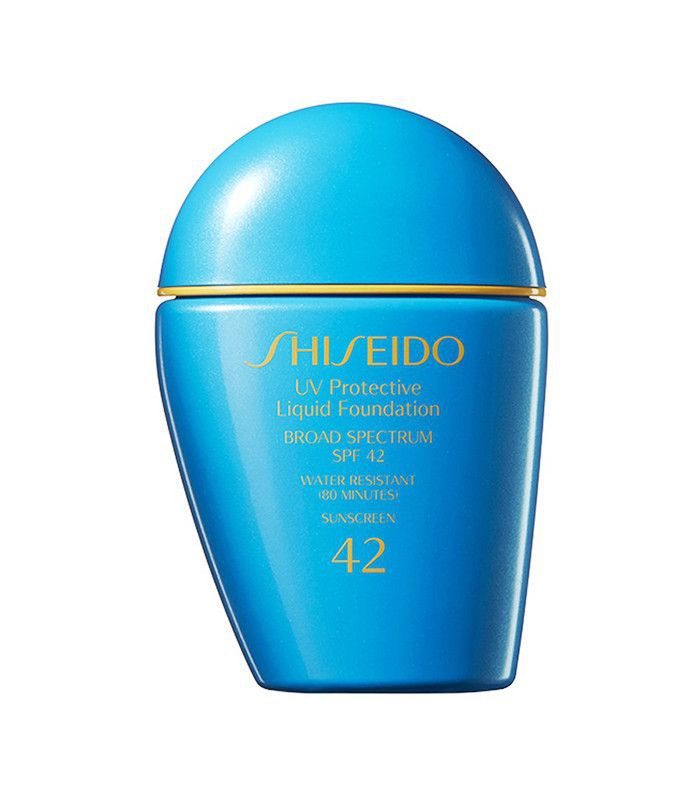shiseido ub protection liquid foundation - makeup with spf