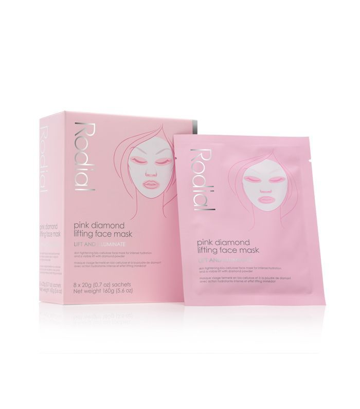best sheet mask: Rodial Pink Diamond Lifting Face Mask