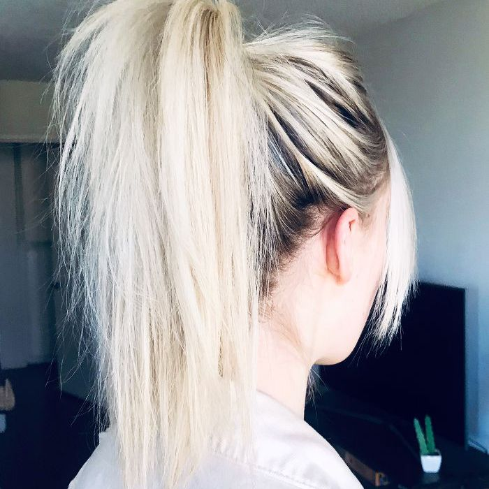 This 5-Second Trick Makes My Ponytails Look Like Blogger Hair