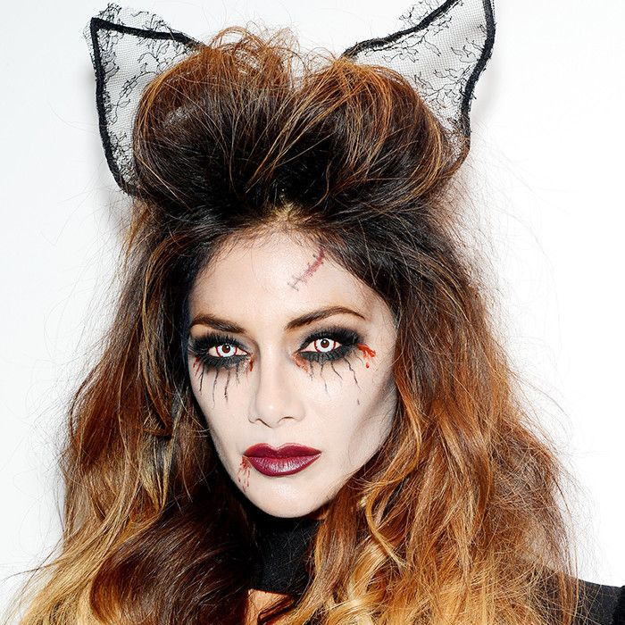 Nicole Scherzinger Halloween Costume.14 Celebs Who Go All Out In The Halloween Makeup Department