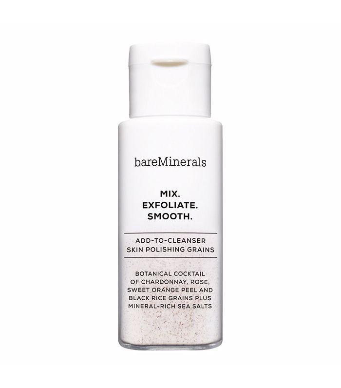 best face scrub: BareMinerals Mix. Exfoliate. Smooth. Skin Polishing Grains