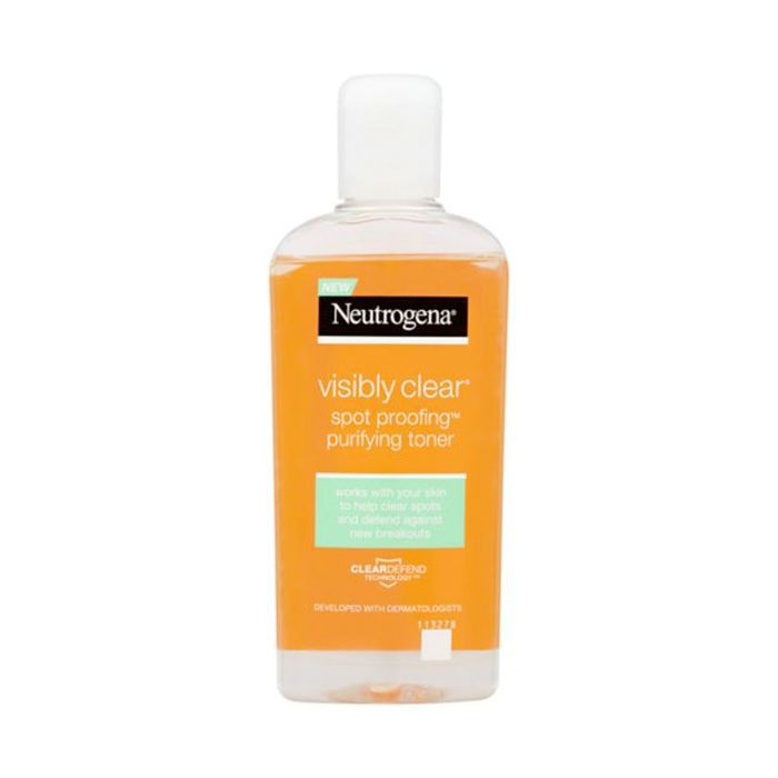 jaw acne: Neutrogena Visibly Clear® Spot Proofing™ Purifying Toner