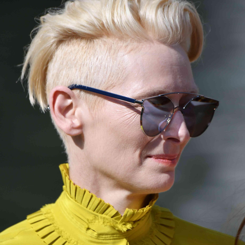 Tilda Swinton - Long Pixie Cut