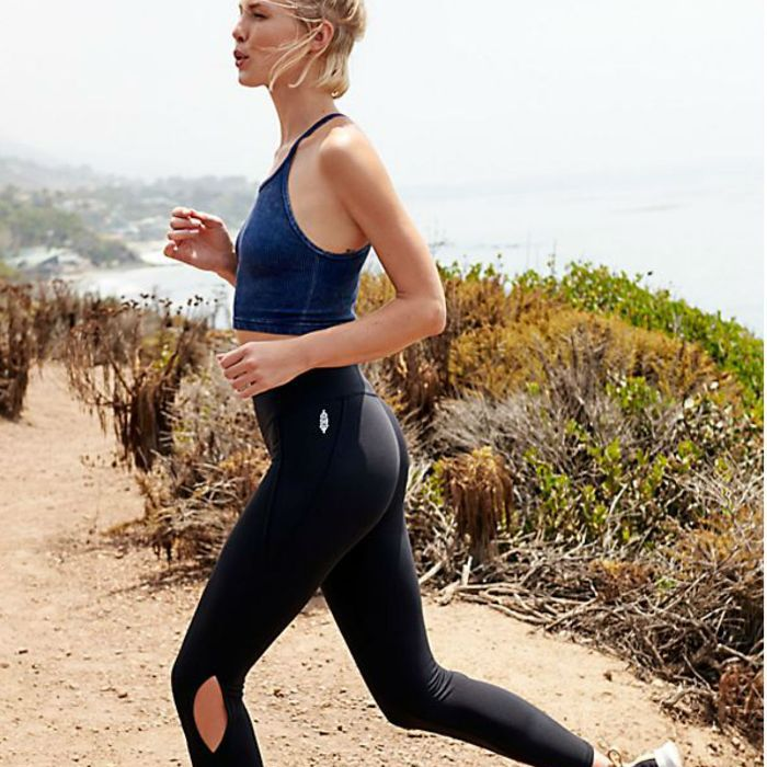 New fitness trends: woman running